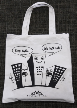 Keep the Peace Tote Bags
